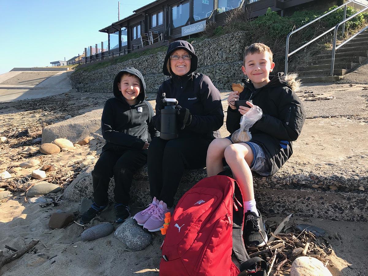 jen-and-family-on-Sandsend-beach copy